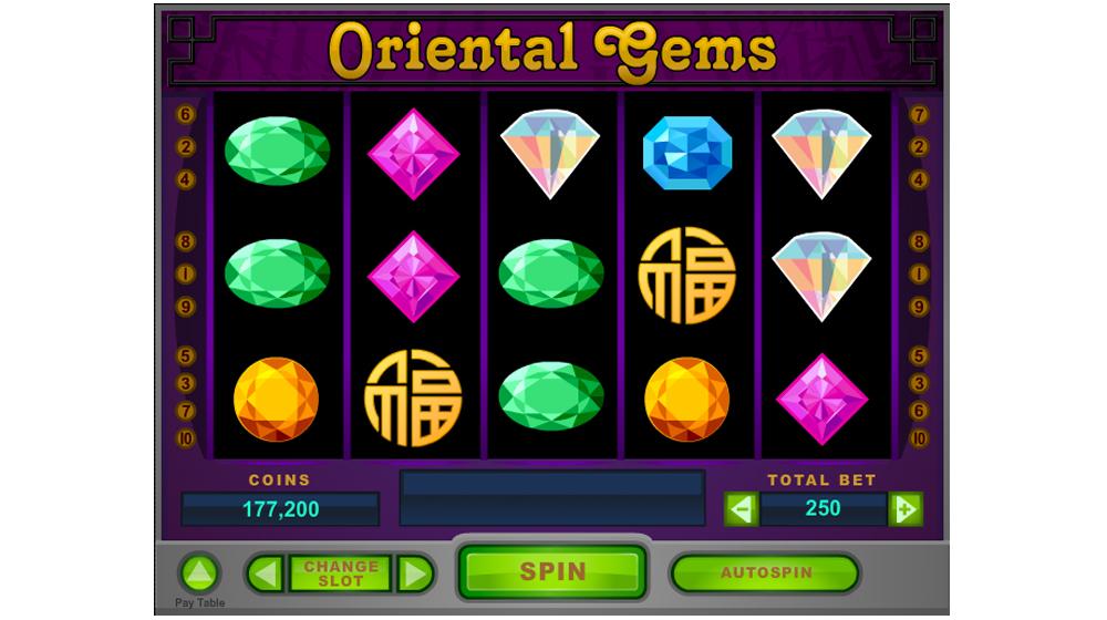 Oriental gems social casino