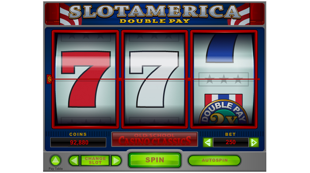 two times pay slot machine casino