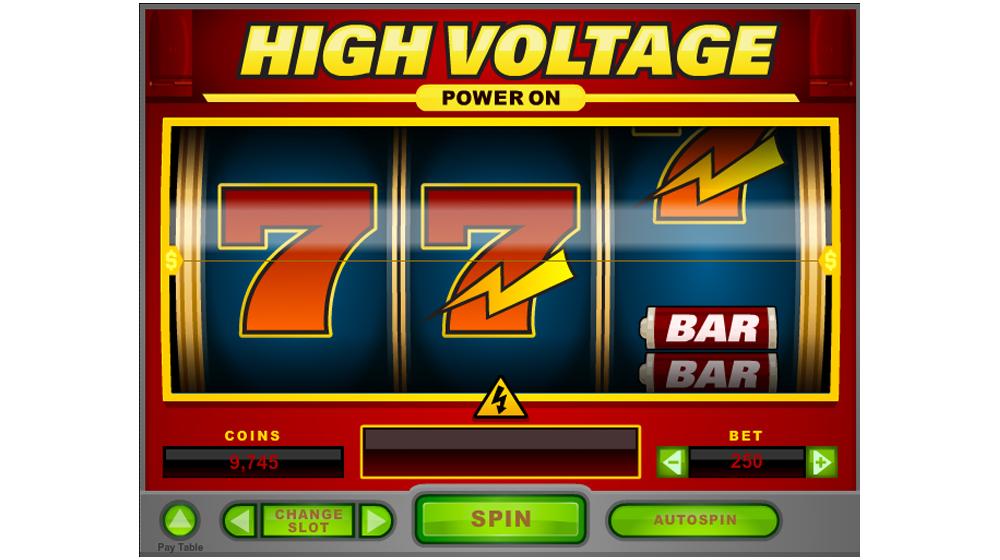 high voltage slot machine