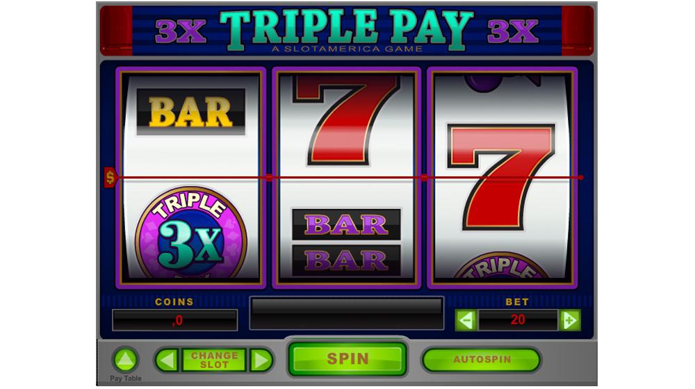 slot machine triple pay