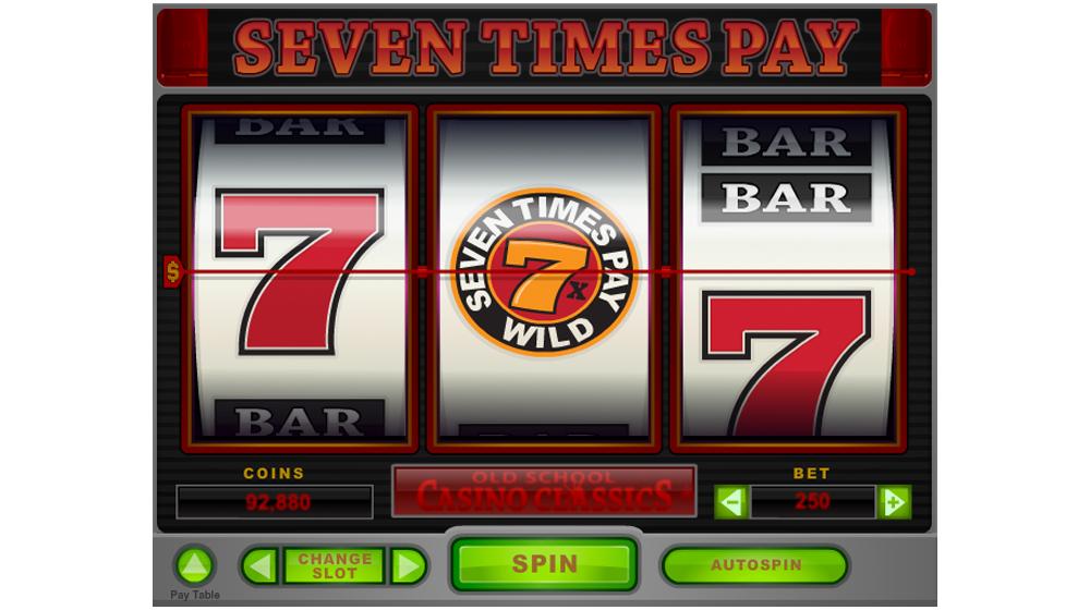 Slot america seven times pay