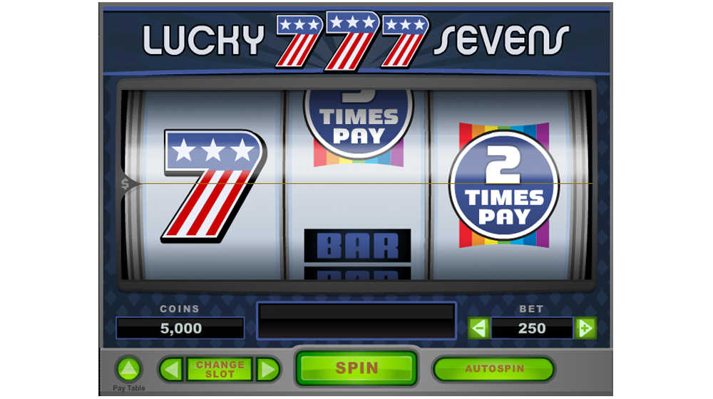 lucky sevens slot machine