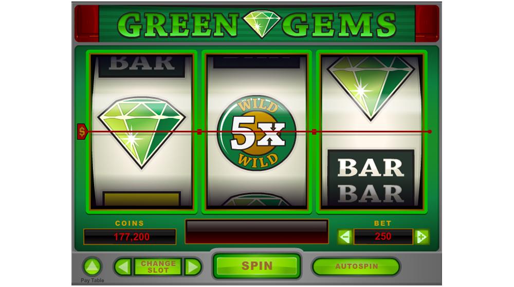 green gems three wheels