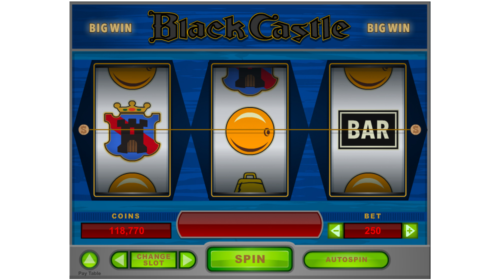Black castle three wheel