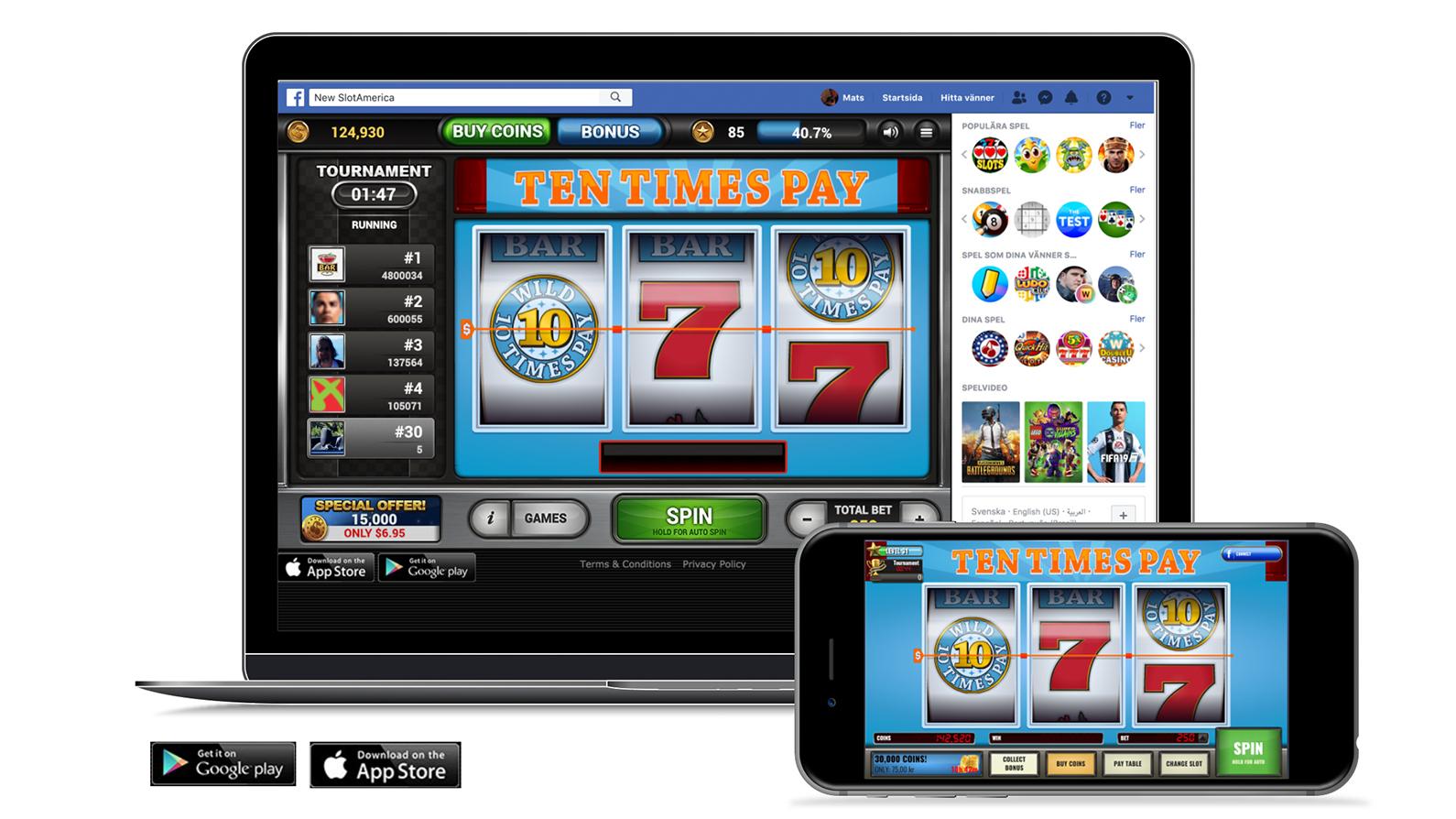 Facebook mobile - Simlab