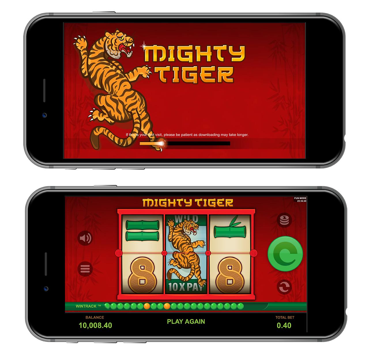 Mighty Tiger SLot Simlab